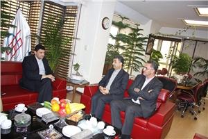 دیدار نماینده مجلس شورای اسلامی از شرکت داده ورزی سداد