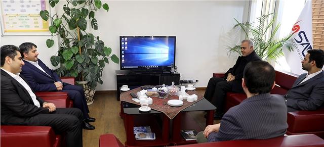 بازدید عضو هیئت رئیسه مجلس از شرکت داده ورزی سداد