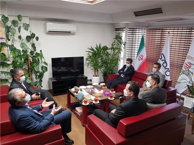 بازدید ریاست محترم اداره کل عملیات بانکی بانک ملی ایران از واحدهای SOC, NOC و مانیتورینگ سرویس های شرکت داده ورزی سداد