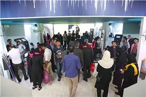 استقبال بی نظیر بازديدکنندگان از غرفه جذاب گروه داده ورزی سداد در آغازین روز نمایشگاه بين المللي الکامپ