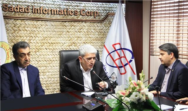 ارائه و اولویت بندی برنامه ها و رویکردهای شرکت داده ورزی سداد در سال 1397 با حضور مدیر عامل و معاونت فناوری اطلاعات و ارتباطات بانک ملی ایران